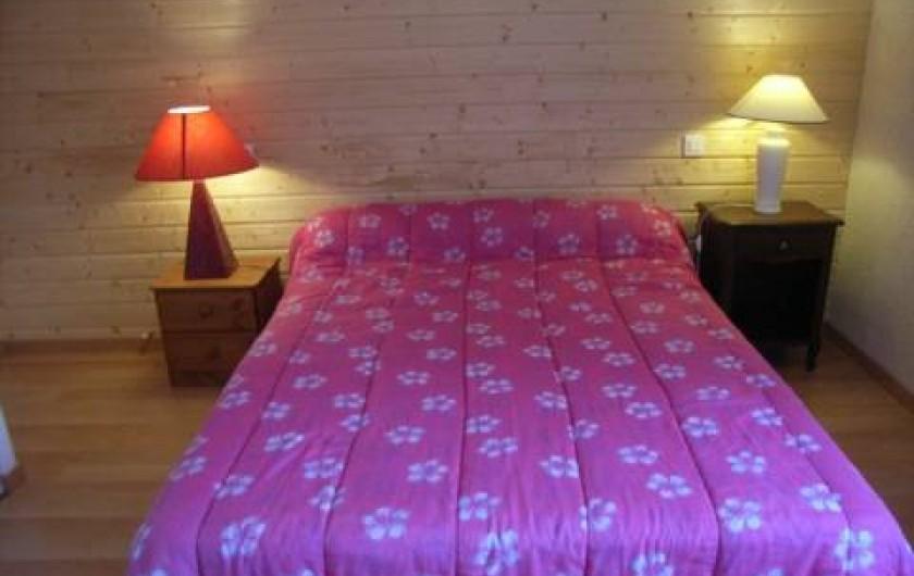 Location de vacances - Maison - Villa à Lanmeur - chambre 1 avec salle de bain