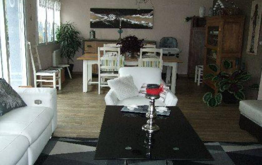 Location de vacances - Villa à Tourlaville - SALLE A MANGER
