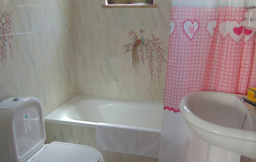 Location de vacances - Villa à Albufeira - Salle de bain rez de chausser