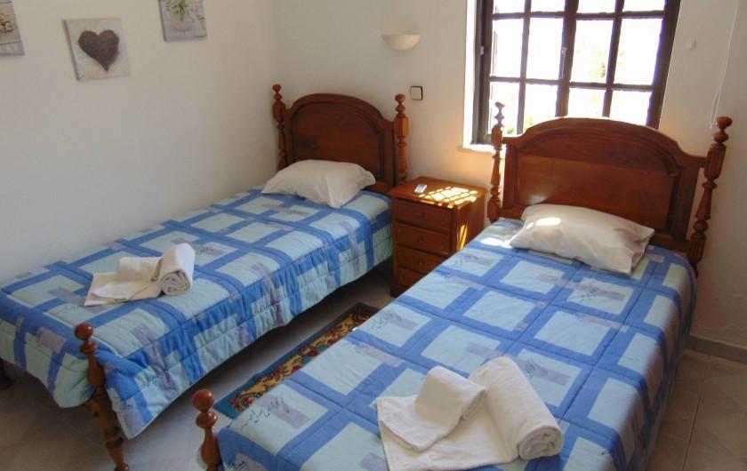 Location de vacances - Villa à Albufeira - Chambre rez de chausser