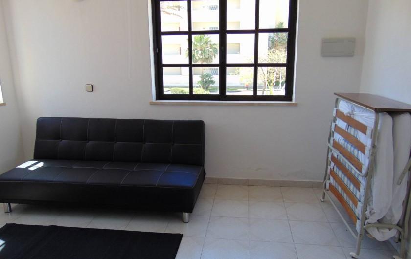 Location de vacances - Villa à Albufeira - 1 divan double 1 divan simple