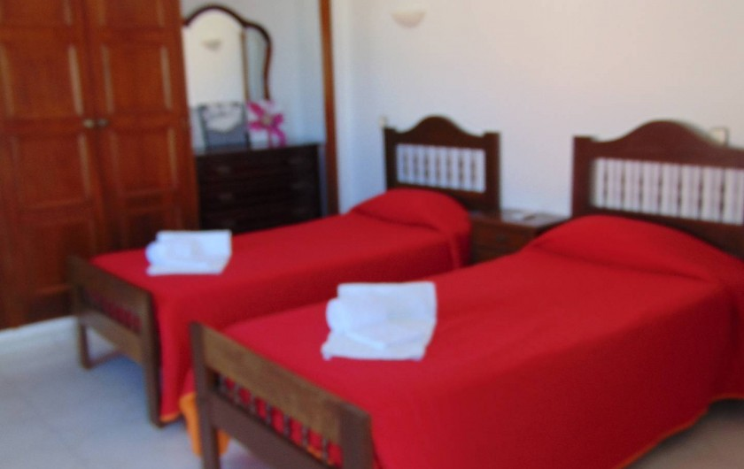 Location de vacances - Villa à Albufeira - Chambre 1º étage