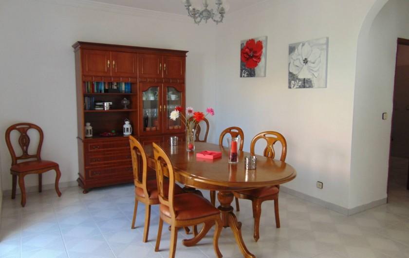 Location de vacances - Villa à Albufeira - Salle a manger