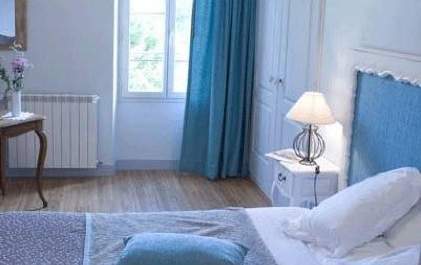 Location de vacances - Chambre d'hôtes à Réaup-Lisse - La chambre Bleue