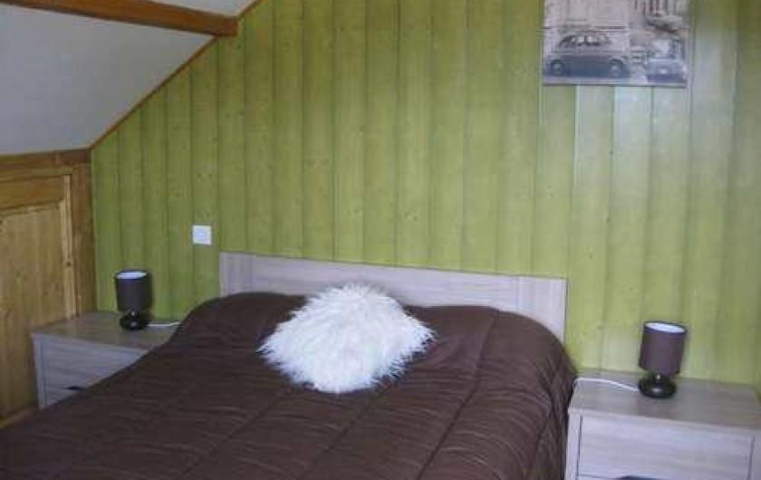 """Location de vacances - Chalet à La Bresse - La chambre """"NATURE"""" /  Le Chalet Vert /  La Bresse"""