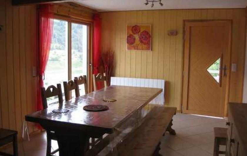 Location de vacances - Chalet à La Bresse - La salle à manger /  Le Chalet Vert /  La Bresse