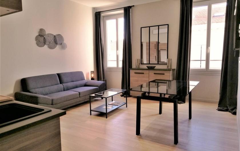 Location de vacances - Appartement à Cannes - Lecerf Gauche