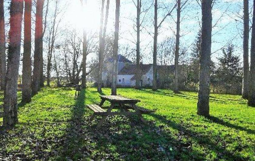 Location de vacances - Insolite à Rezay - Le vieux Moulin de Rezay