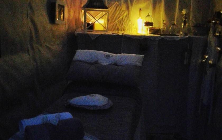 Location de vacances - Insolite à Rezay - Dans cette petite paillote , vous vivez la relaxation