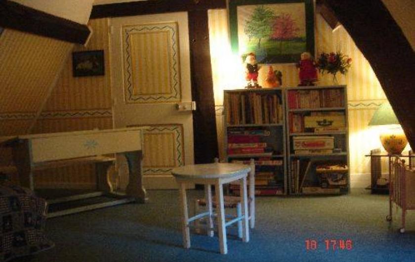 Location de vacances - Château - Manoir à Le Mesnil-sur-Blangy - Salle de jeu