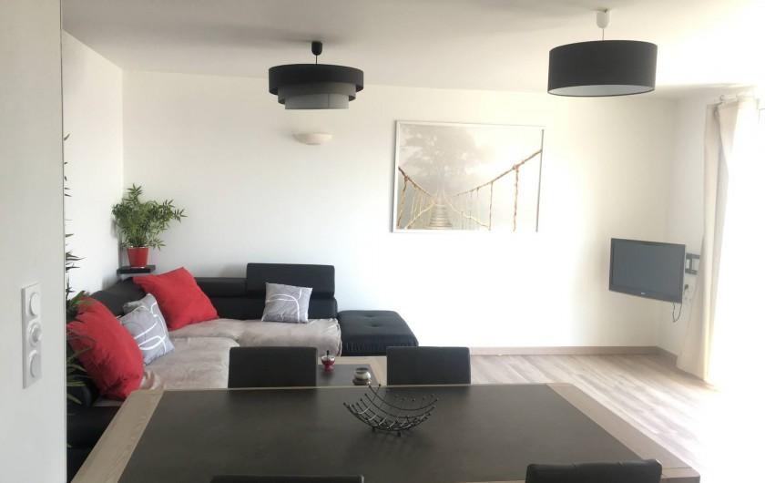 Location de vacances - Appartement à Perros-Guirec - Salle / Salon