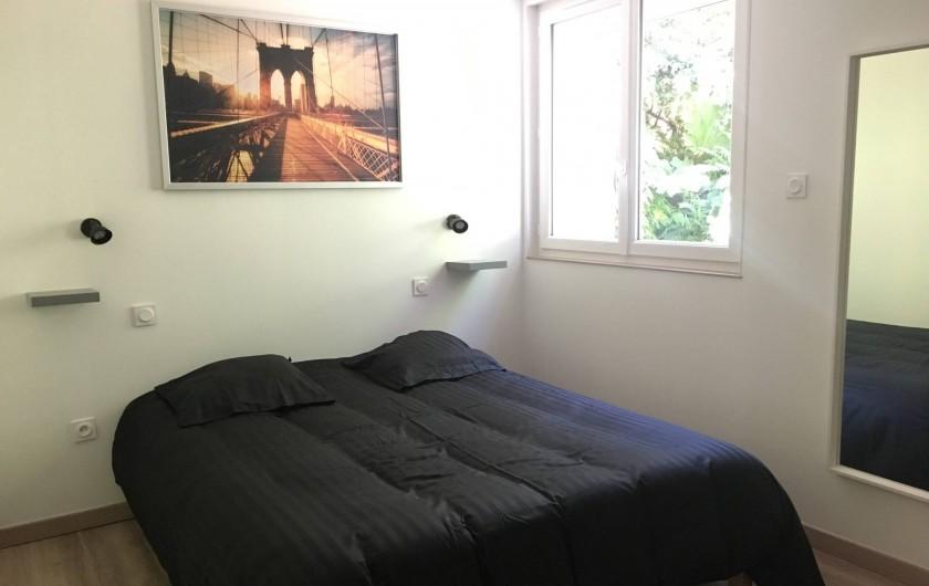 Location de vacances - Appartement à Perros-Guirec - Chambre Lit Double