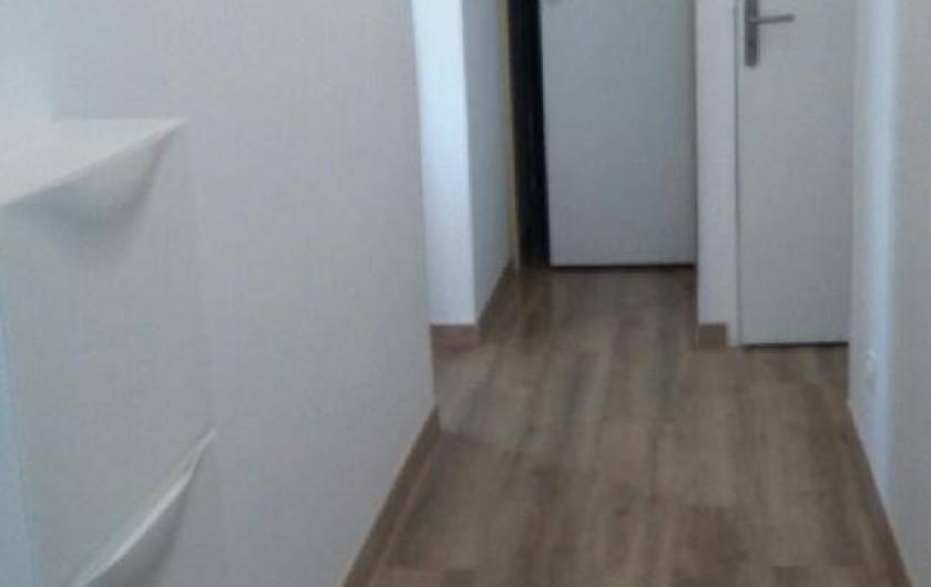 Location de vacances - Appartement à Perros-Guirec - Hall D'entré