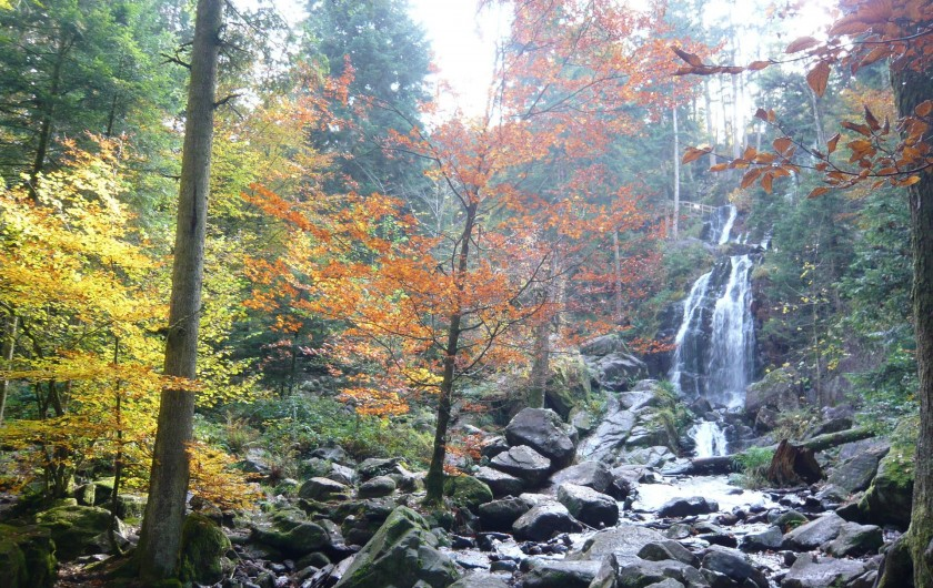 Location de vacances - Chalet à Le Tholy - Cascade de tendon