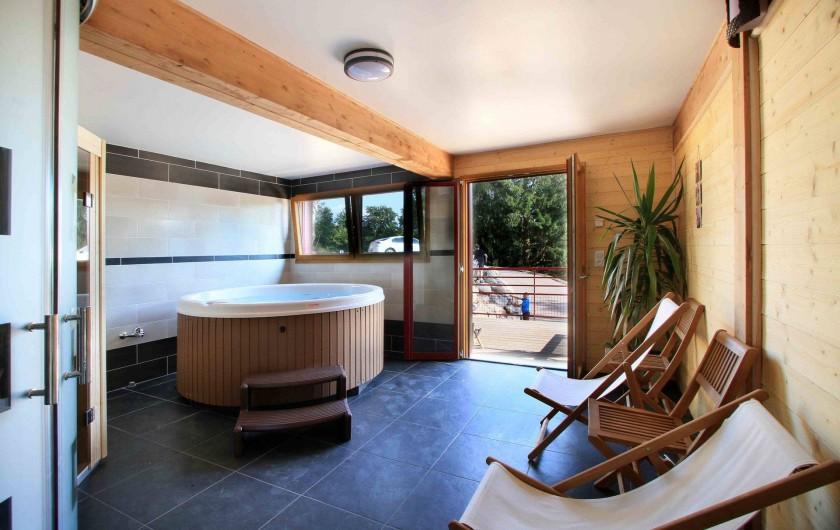 Location de vacances - Chalet à Le Tholy - Spa & Sauna