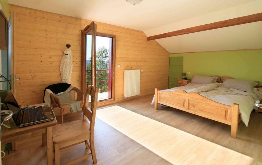 Location de vacances - Chalet à Le Tholy - Chambre Sapin