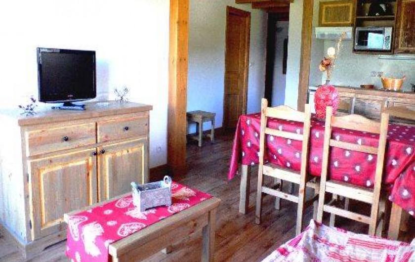 Location de vacances - Appartement à Aussois - Séjour appartement 3 pièces