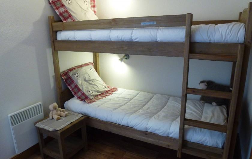 Location de vacances - Appartement à Aussois - Chambre enfants