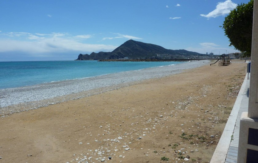 Location de vacances - Appartement à Altea - Plage
