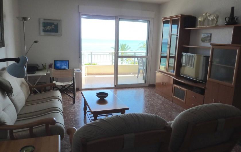 Location de vacances - Appartement à Altea - Salon