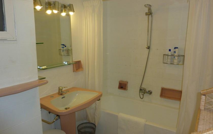 Location de vacances - Appartement à Altea - Salle de bain principale