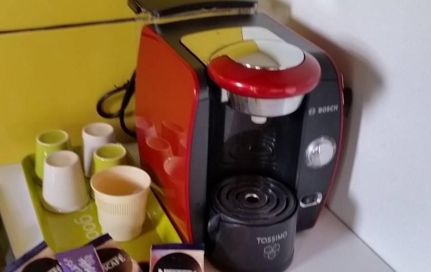 Location de vacances - Chalet à Le Tampon - Cafetière et thé mis à disposition
