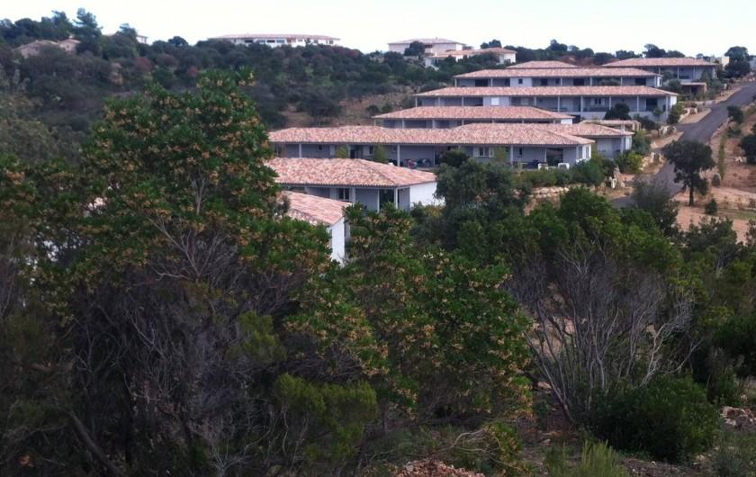 Location de vacances - Villa à Porto-Vecchio - Notre parc de Santa Guilia comporte quelques mini-villas + 1 grande piscine free