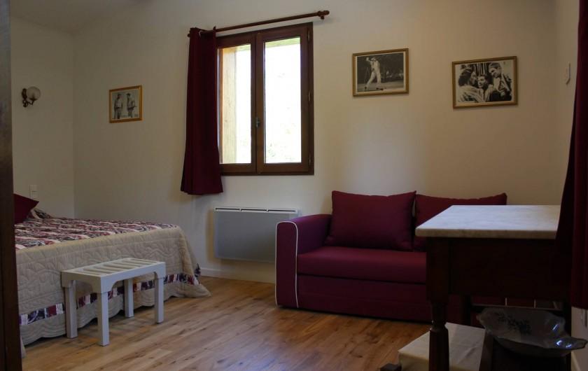 Location de vacances - Chambre d'hôtes à Bajamont - chambre N°3  lit 160