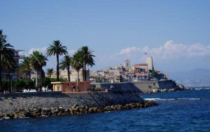 Location de vacances - Appartement à Juan les Pins - Les remparts d'Antibes