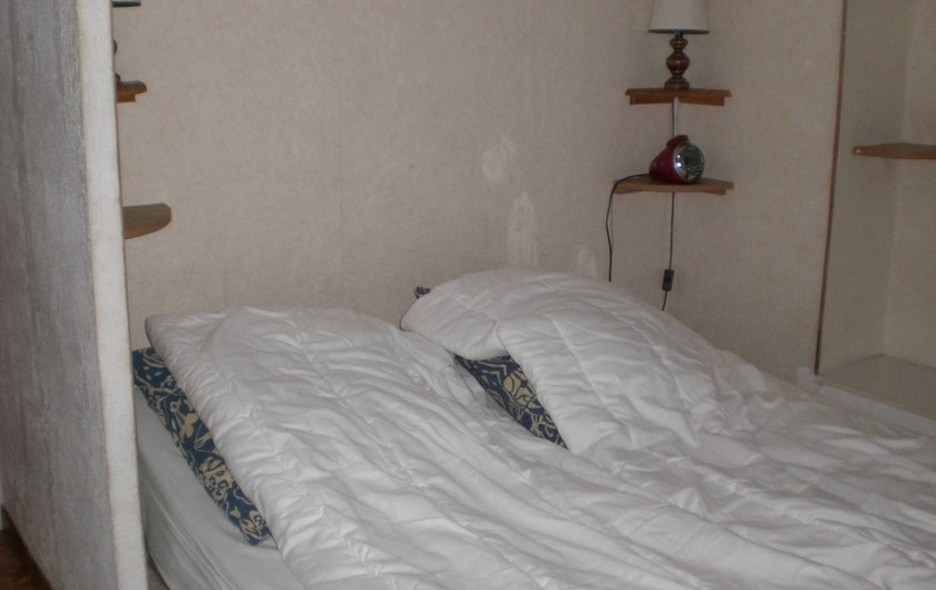 Location de vacances - Appartement à Juan les Pins - Chambre a coucher