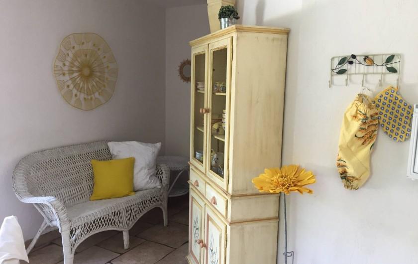 Location de vacances - Gîte à Saint-Jean-de-Valériscle - Gîte Le Soleil du Sud