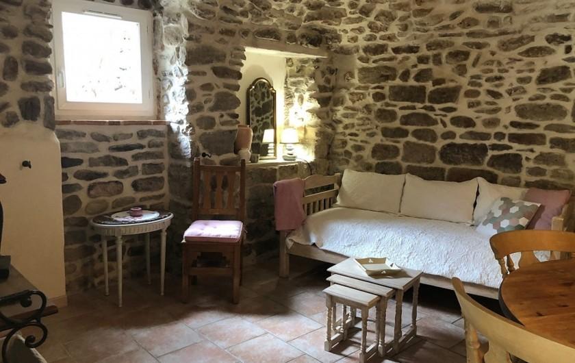 Location de vacances - Gîte à Saint-Jean-de-Valériscle - Gîte La Rose des Sables,  chambre 1
