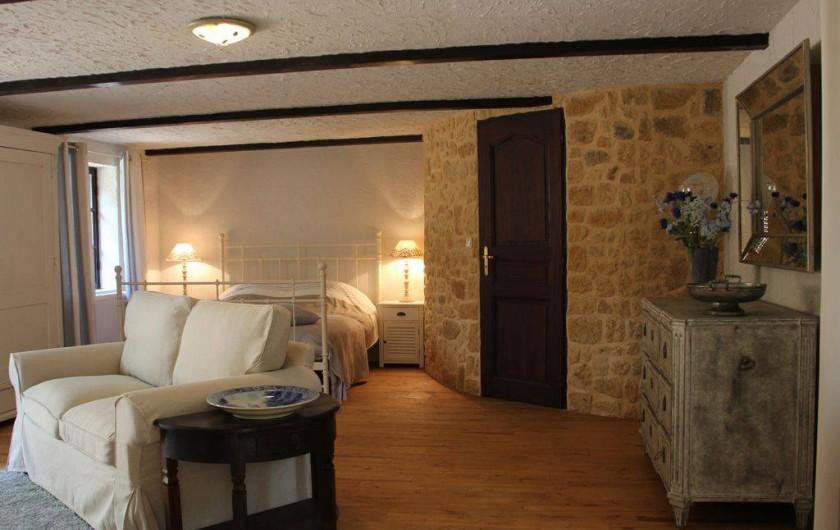 Location de vacances - Villa à Auriac-du-Périgord - CHAMBRE AU REZ-DU-CHAUSSEE