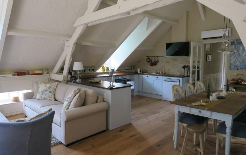 Location de vacances - Villa à Auriac-du-Périgord - COIN REPAS ET CUISINE