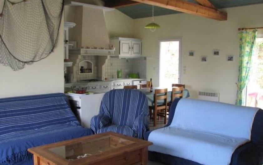 Location de vacances - Villa à Saint-Michel-Chef-Chef - salon