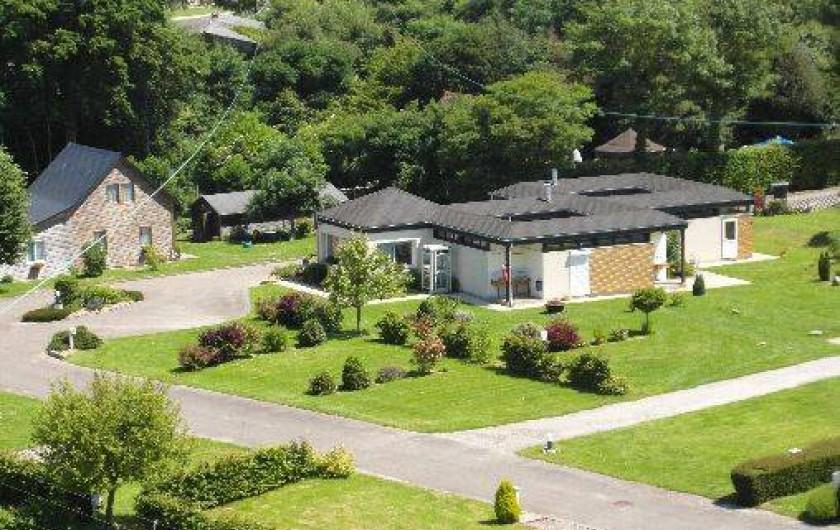 Location de vacances - Bungalow - Mobilhome à Le Bourg-Dun - vue des sanitaire