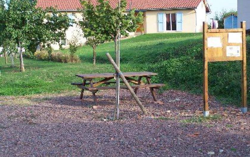 Location de vacances - Gîte à Salles-Arbuissonnas-en-Beaujolais
