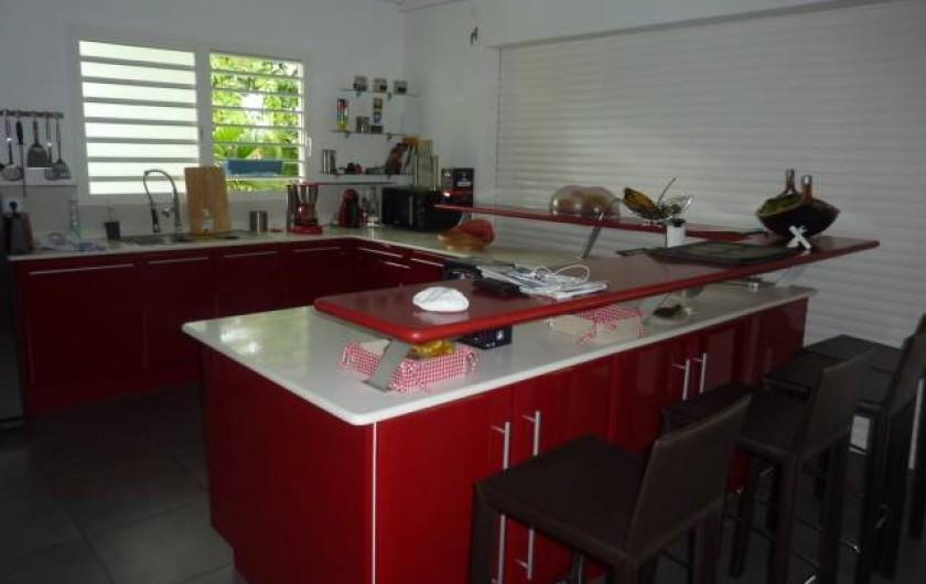 Location de vacances - Villa à Saint-François - cuisine