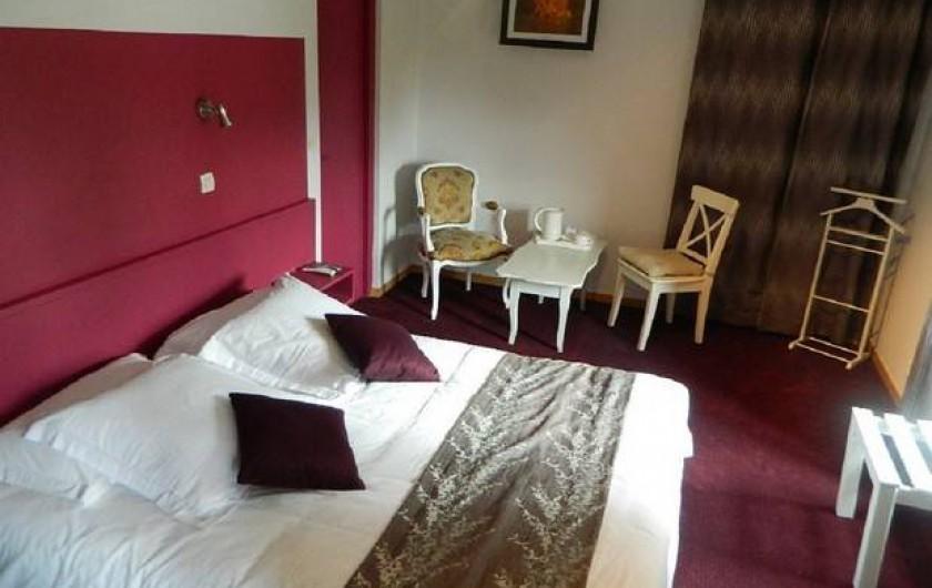 Location de vacances - Hôtel - Auberge à Lamarche-sur-Saône - Salle de repas