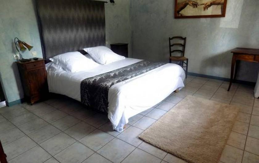 Location de vacances - Hôtel - Auberge à Lamarche-sur-Saône - Chambre