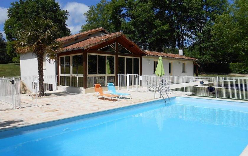 Location de vacances - Gîte à Lussas-et-Nontronneau