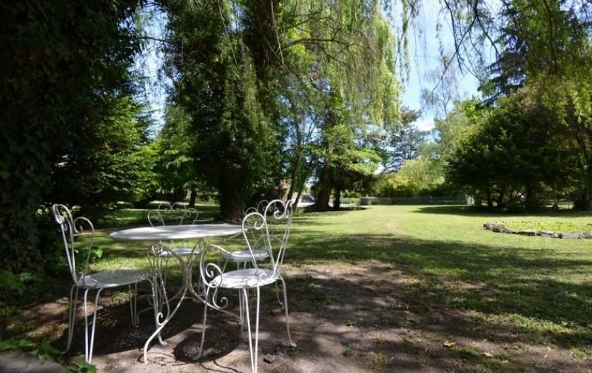 Location de vacances - Gîte à Malauzat - Parc