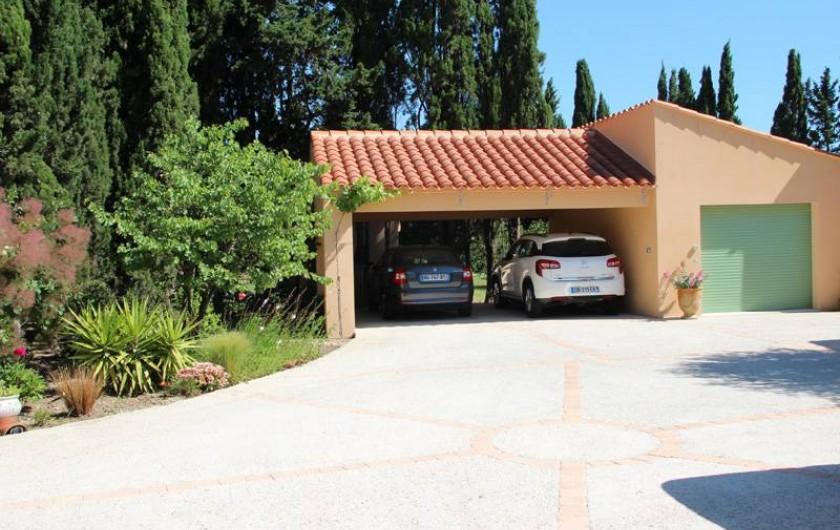 Location de vacances - Gîte à Saint-Cyprien - parking