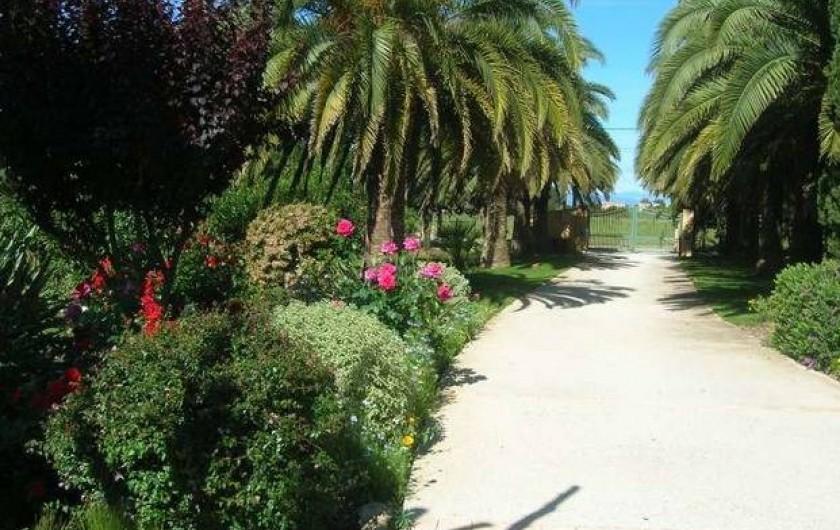 Location de vacances - Gîte à Saint-Cyprien - Entrée du mas