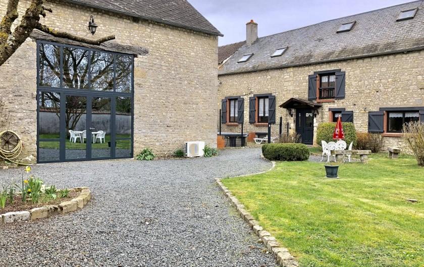 Location de vacances - Gîte à Engenville - Le Gite situé dans un hameau calme et tranquille