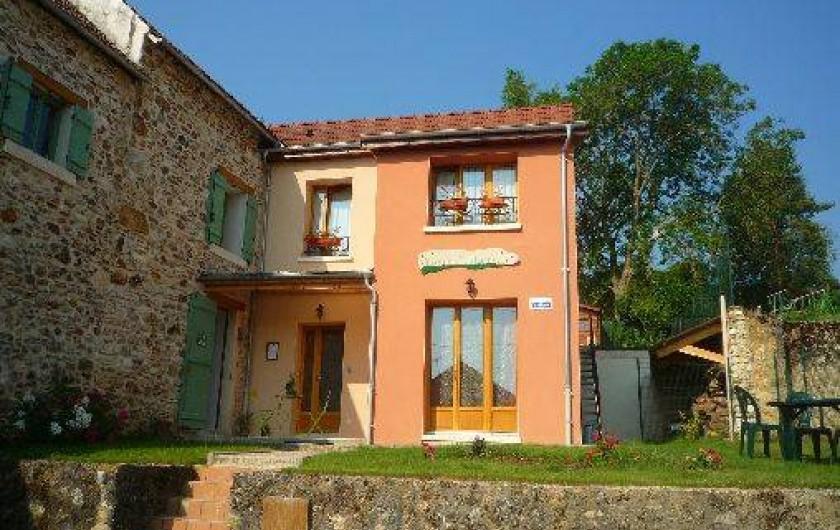 Location de vacances - Chambre d'hôtes à Champvoisy
