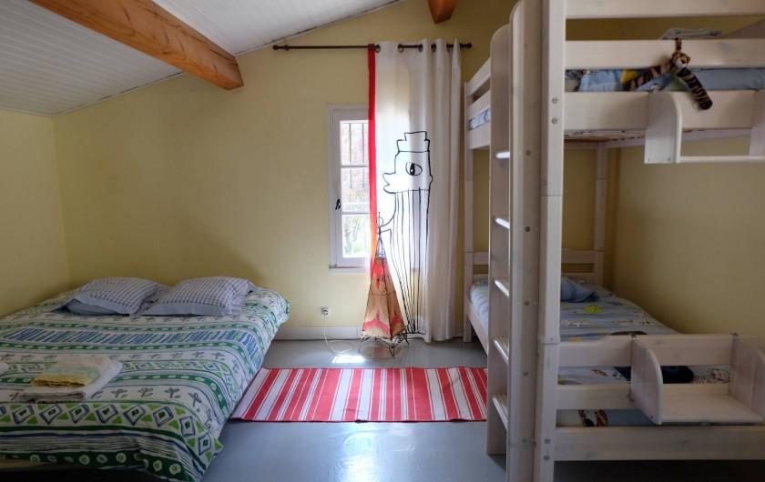 Location de vacances - Mas à Assas - Chambre enfants