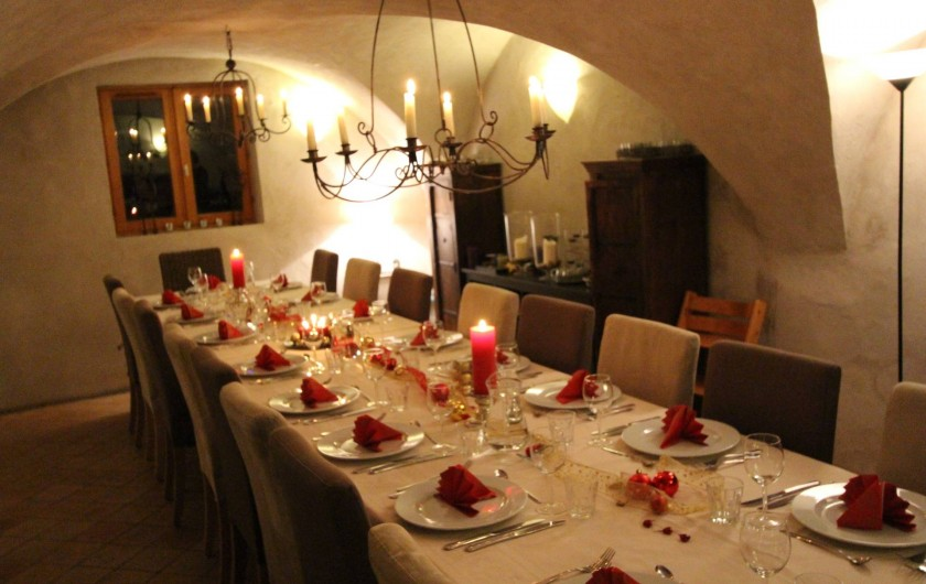 Location de vacances - Chalet à Vaujany - Dining table