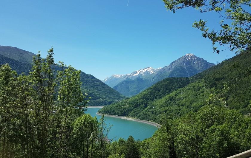 Location de vacances - Chalet à Vaujany - Lac de Verney