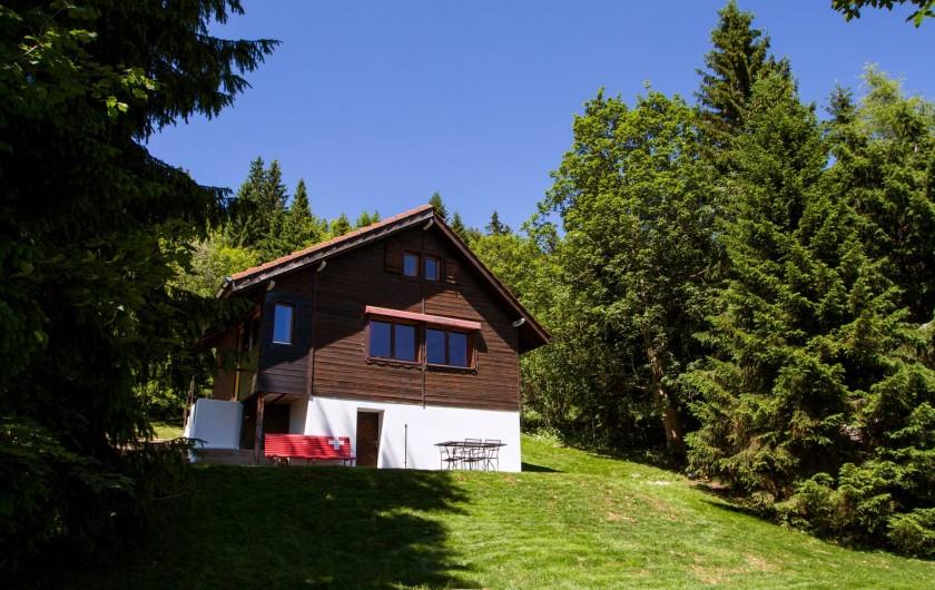 Location de vacances - Chalet à Fontaines